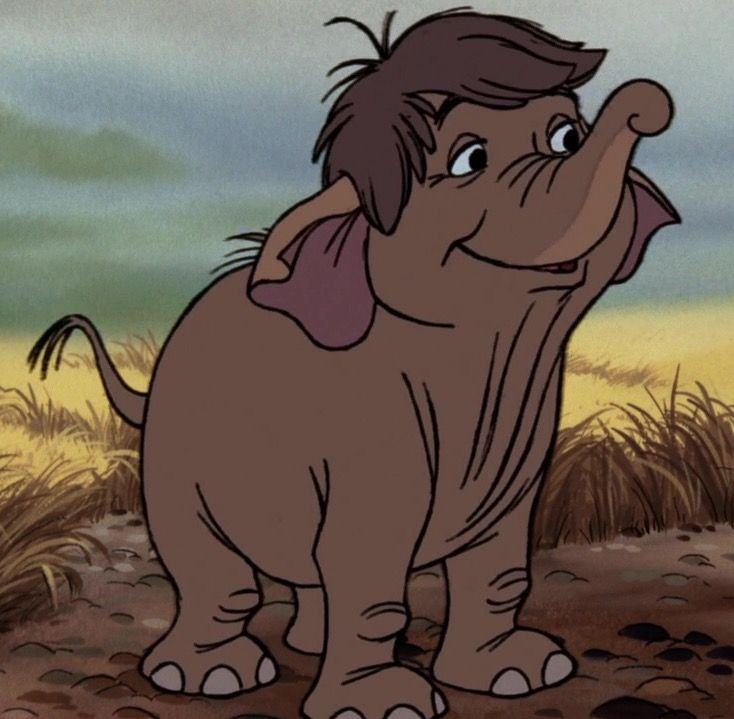 Hathi Jr Is A Young Elephant Who Appears In The Jungle Book And Its Sequel The Jungle Book 2 He Is The S Disney Elephant Jungle Book Disney Disney Art Style
