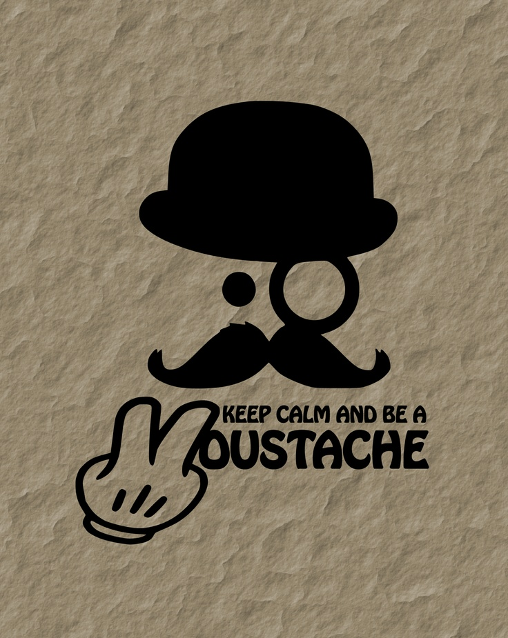 Keep calm and be a Moustache ... neue Motive im Moustache-Shop ...  www.codeshirt24.de/t-shirt-shops/moustachemotive/