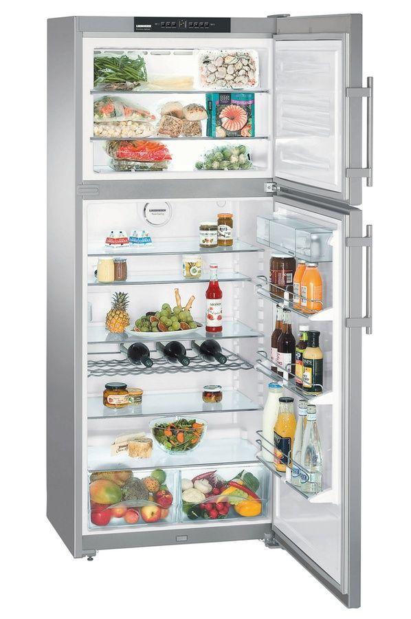 Refrigerateur congelateur en haut Liebherr CTNES 4753-2 15J INOX