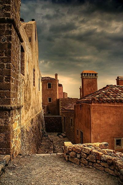 #Monemvasia is located in the southeastern #Peloponese in the prefecture of #Laconia #Greece #kitsakis