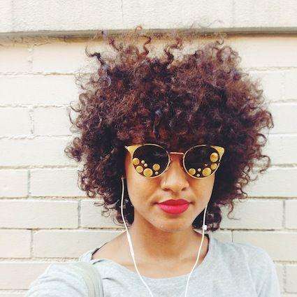 Kivvi // 3C Natural Hair Style Icon | Black Girl with Long Hair