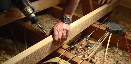 How to Build a Raised Storage Area in Your Attic
