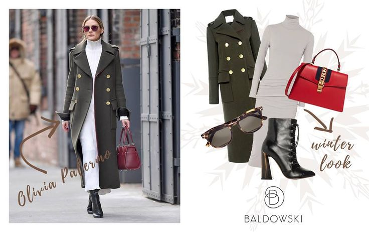 Olivia Palermo by Baldowski #inspiration #celebrities #ootd #look #fashion #redbag #shoes