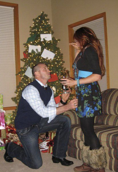 Christy Hemme getting engaged to boyfriend Charley Patterson over the Christmas holiday 2009.