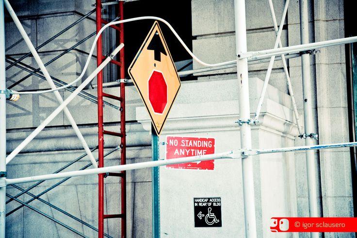 no standing  © Igor Sclausero #manhattan #newyork