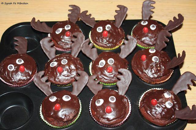 Rentier-Muffins vegan #vegan