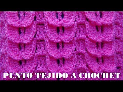 Punto a crochet o ganchillo # 14 para cualquier prenda tejida, My Crafts and DIY Projects