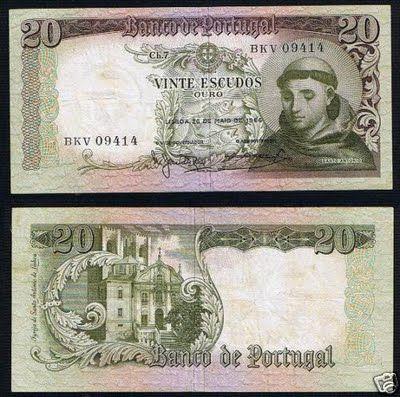 portuguese money | ... antonio compra notas portuguesas aqui buy portuguese money paper here