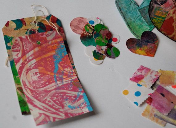 Journal embellishments for smashbook scrapbook