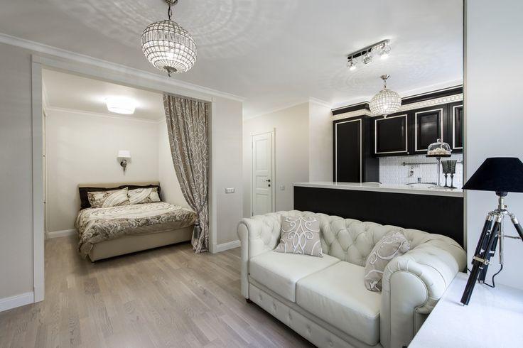 Уютная квартира площадью 28 кв метров | Роскошь и уют