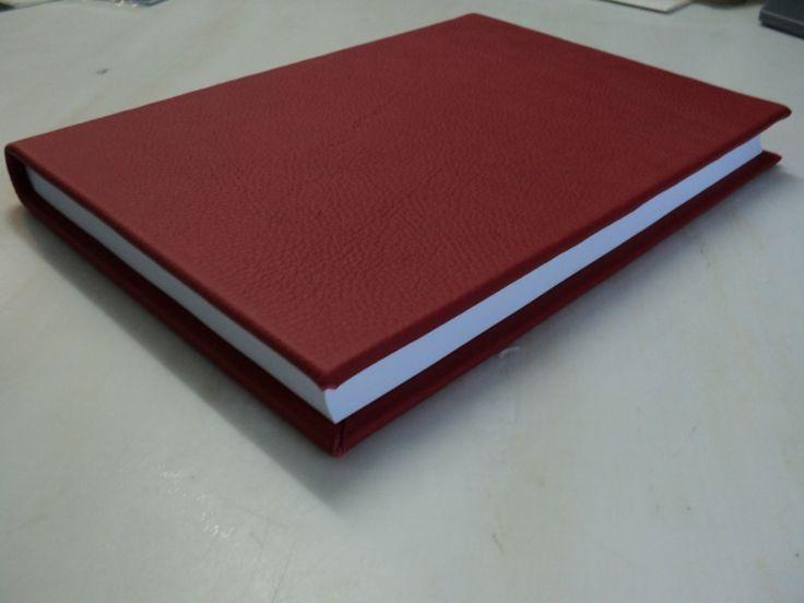Rood lederen dummy boek rode leren kaft met 165 a4 bladenen kaft echt leer dummyboek -
