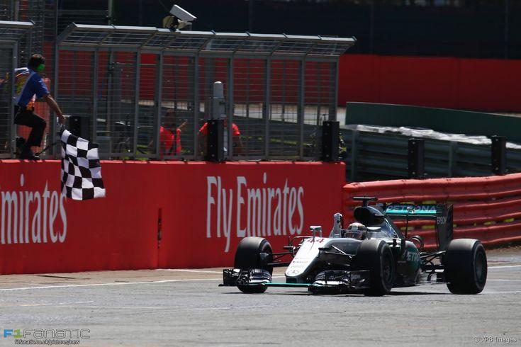 Lewis Hamilton, Mercedes, Silverstone, 2016