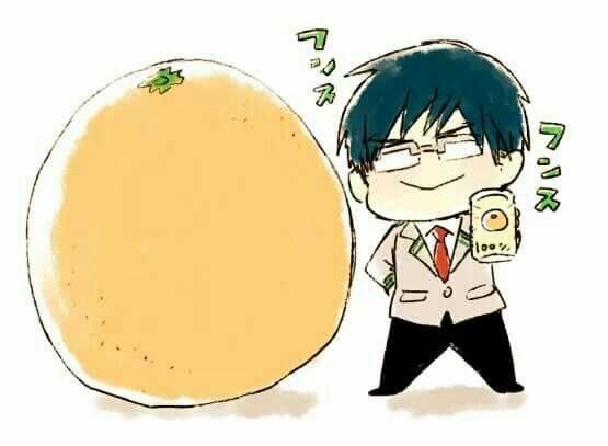 飯田くんとオレンジ100%