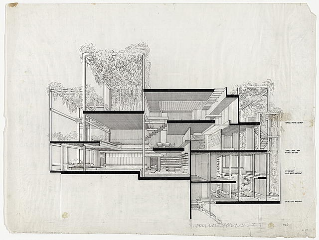 Penthouse Apartment by Paul Rudolph