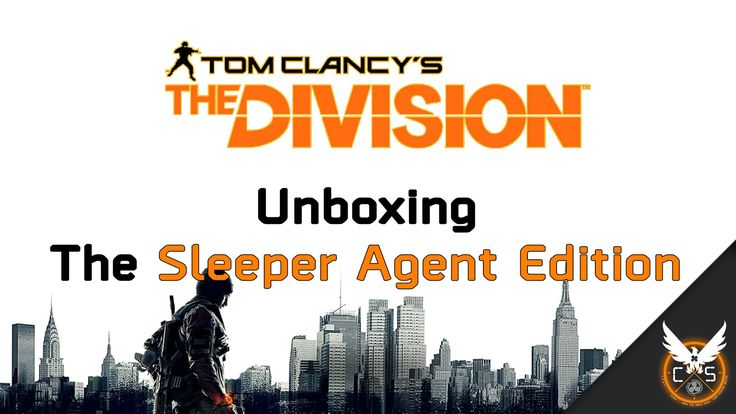 Unboxing The Division's Sleeper Agent Edition