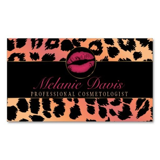 63 best business cards cosmetologist images on pinterest business chic cosmetology business card colourmoves
