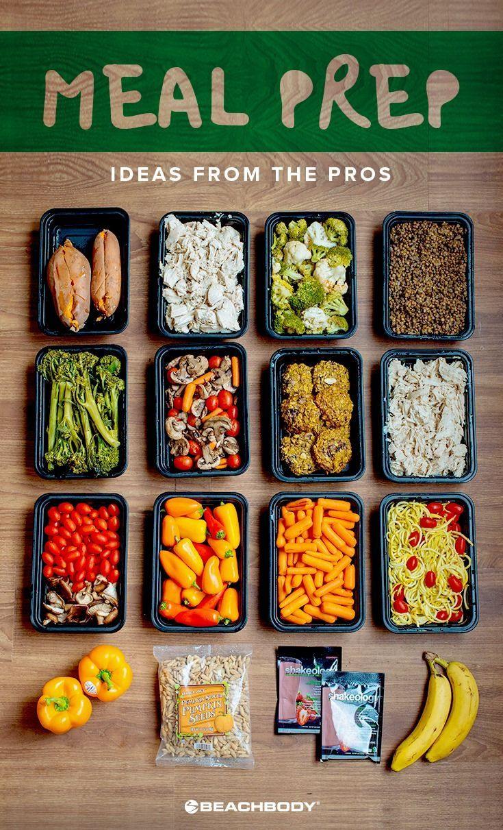 Our resident Meal Prep Pros know that variety is the key to sticking with the meal prep lifestyle. Keep simple staples such as chicken, sweet potatoes, and lentils in heavy rotation, then work in a variety of different fruits and vegetables as the seasons change. Check out some of the delicious meals they've prepped for breakfasts, lunches, dinners. // meal prep // meal planning // healthy eating // meal prepping // clean eating // healthy food // Beachbody // BeachbodyBlog.com