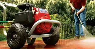A pressure washer is a type of machine based on the principle of washing using pressurized water. This type of machine may produce high pressure which is sometimes 100 percent higher than that from a garden hose, causes grime and dust to be washed away. @ www.pressure-washers.me.uk