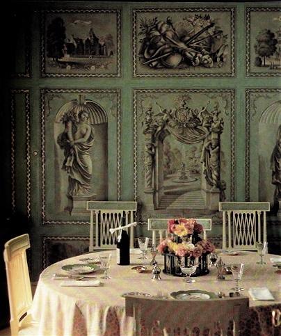 Fabulous Dining Room By /David Hicks