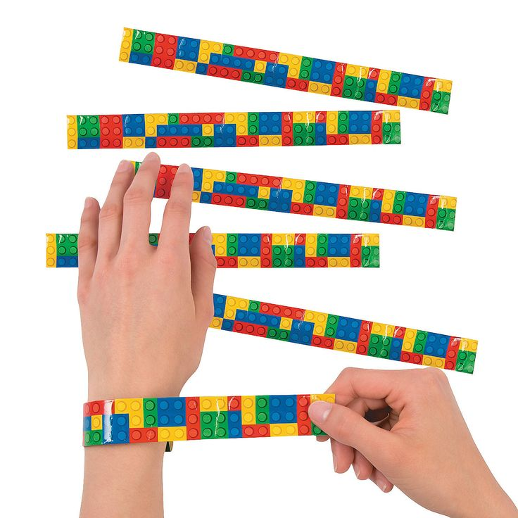 Color+Brick+Party+Slap+Bracelets+-+OrientalTrading.com