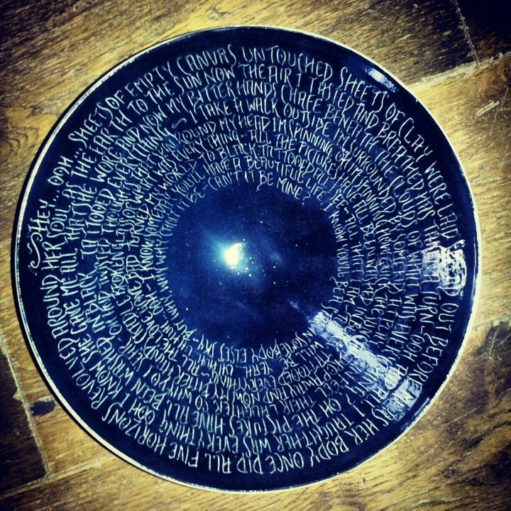 Pearl Jam.Black. Handmade bowls from £50