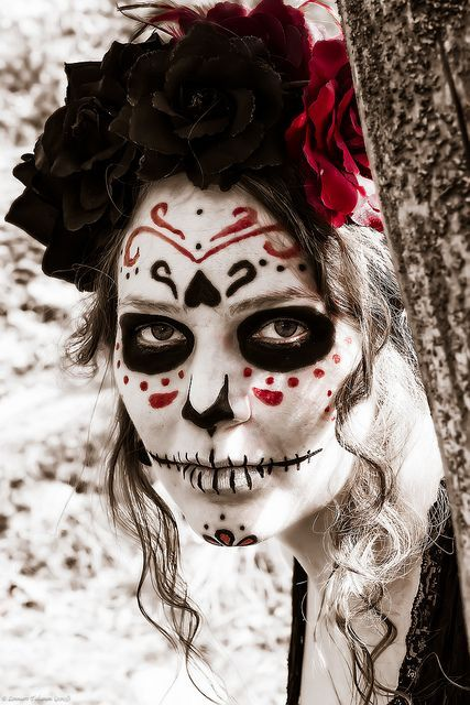 Day of the Dead Makeup Ideas | Day of the Dead makeup | Day of the Dead Crafts & Ideas
