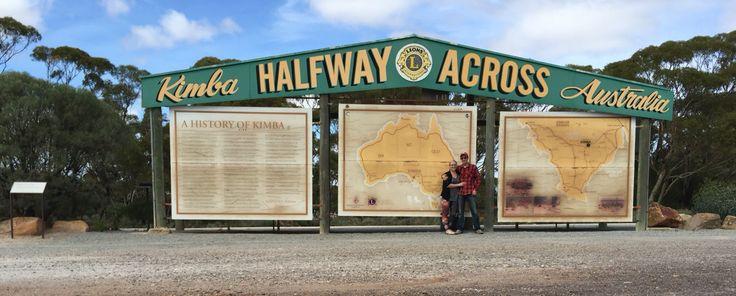 Kimba, SA Halfway across Australia