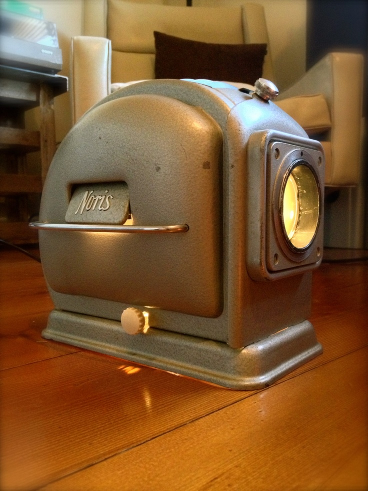 Vintage Noris Slide Projector Desk Light. $165.00, via Etsy.