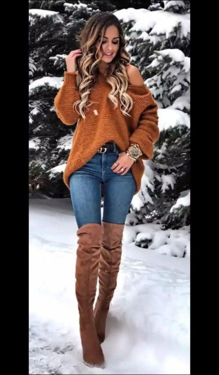 Stunning 40 Winter Outfits Full of Love! Totally Appearance Women 101outfit.com/…