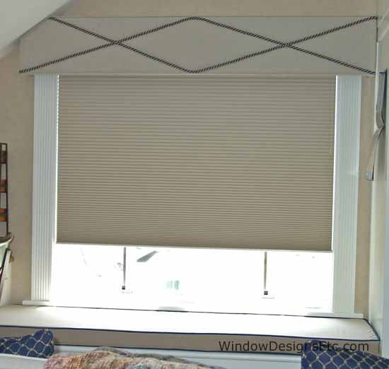 Hunter Douglas Duette Architella Honeycomb Shades In