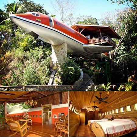 la maison avion
