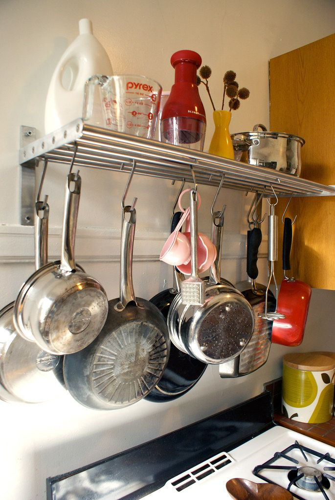 Pot Rack With Images Kitchen