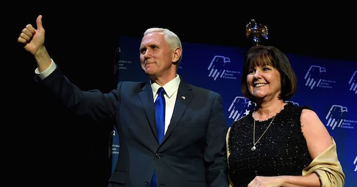 Working late nights with colleagues and dining with constituents is nothing new for a legislator; it's part of the job. But Vice President Mike Pence and his wife Karen have what most would consider an unorthodox approach to protecting their marriage.    According to the Indianapolis Star,