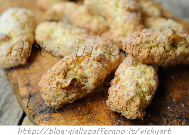 Biscotti+alle+noci+veloci+ricetta+senza+burro+e+olio