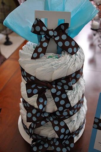 Baby Trace's Diaper Cake