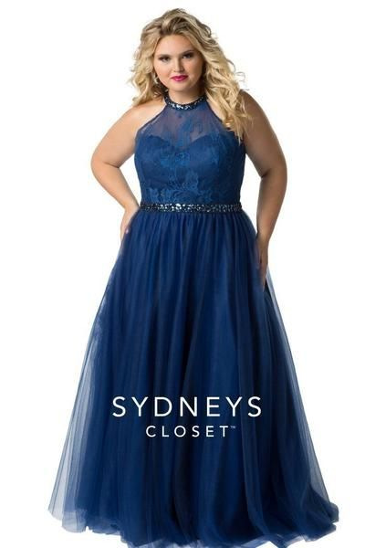 Blue My Mind Prom Gown
