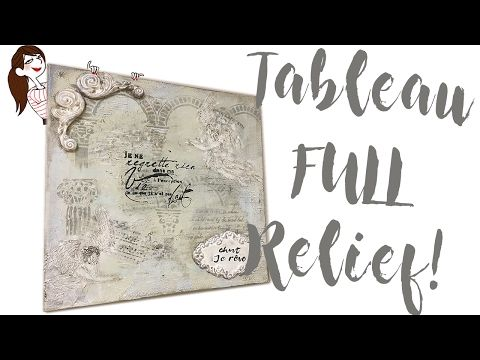 Tableau relief anges
