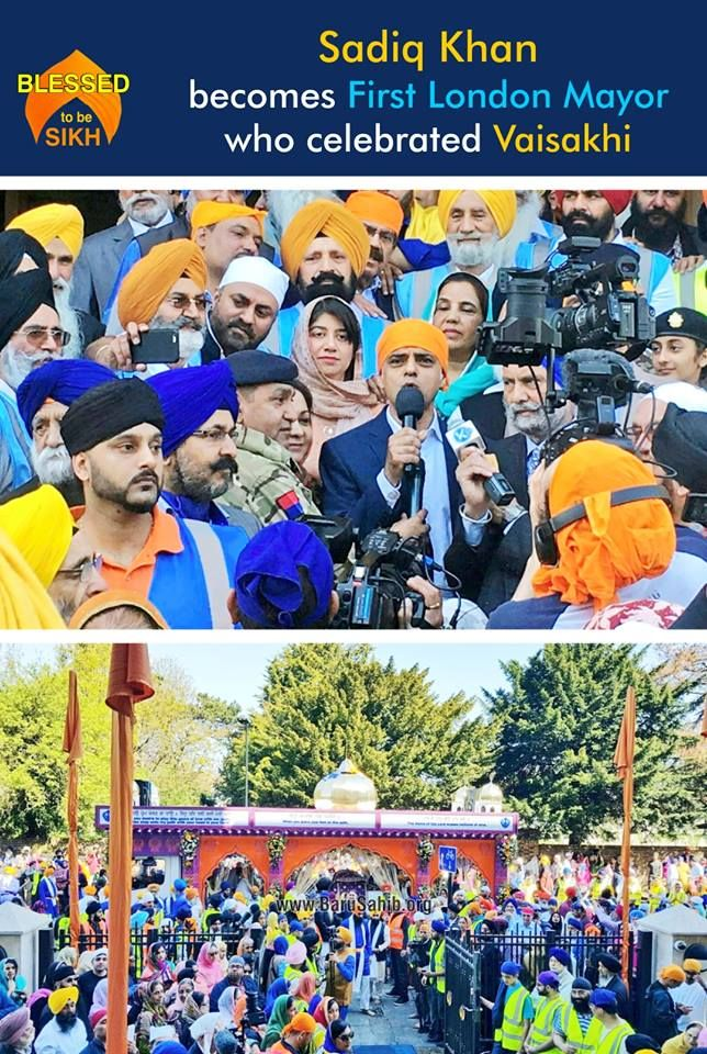 """Sadiq Khan becomes First London Mayor who celebrated Vaisakhi  London Mayor Sadiq Khan attended a Vaisakhi parade in the city's Southall neighbourhood, becoming the first mayor of the British capital to participate in the event. The parade is among the largest open-air celebrations of any festival in Europe.  Later in the day, Khan declared on Twitter while referring to the event, """"Londoners don't just tolerate diversity, we celebrate it."""" He had been joined by fellow Labour MPs Seema…"""