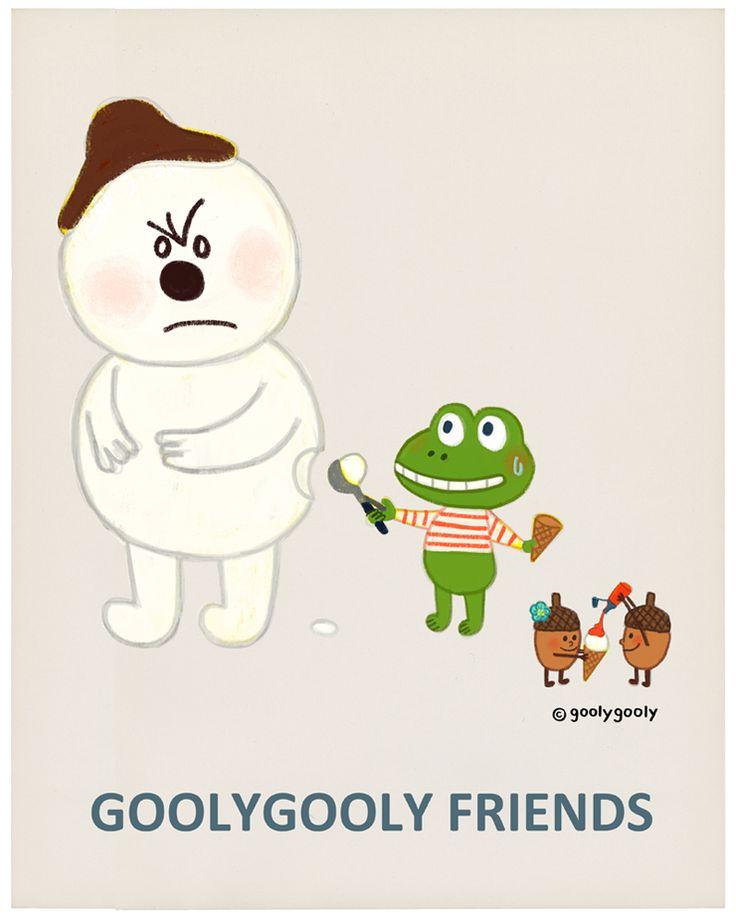 스노우 아이스크림  오늘 폭염이 예상되네요. 무더운 하루 즐겁게 보내세요~  굴리굴리 프렌즈 GOOLYGOOLY FRIENDS  < 모바일/PC 바탕화면 다운받기 > http://grafolio.net/illustration/wallpaper.grfl?projectNo=26109