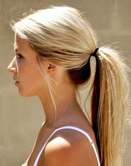 Ponytail Hairstyles For Long Hair 16 Best Hair Styles For Working Out Images On Pinterest  Hair Dos