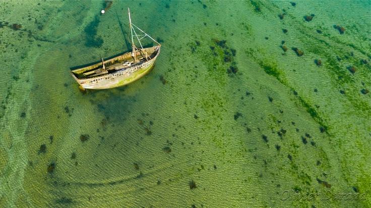 shipwreck near Penvenan