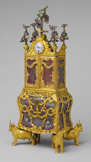 James Cox: Miniature secretary incorporating a watch (46.184a-c) | Heilbrunn Timeline of Art History | The Metropolitan Museum of Art