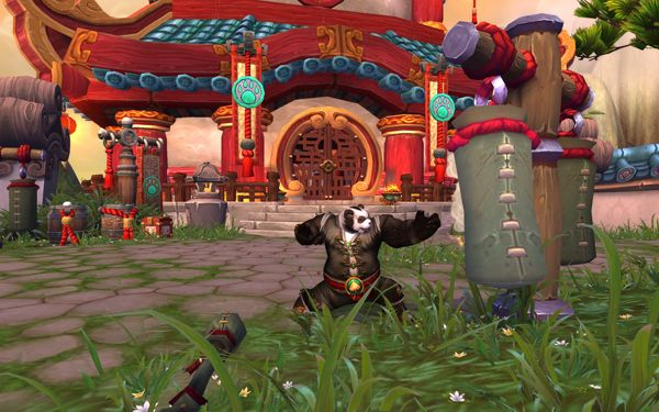 Mists of Pandaria kung fu inspired 'monk' class new to world of warcraft, the largest MMORPG (Blizzard Entertainment, 2012)