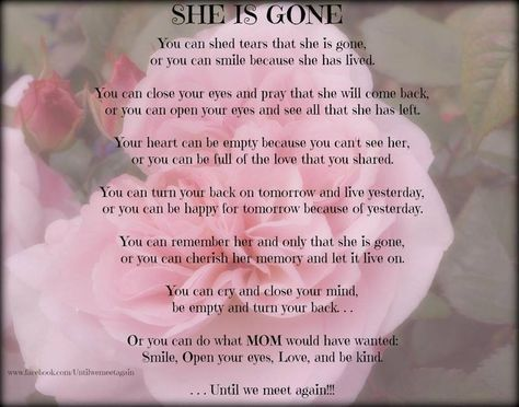 14 best Funeral Poems For Partner images on Pinterest | Funeral ...