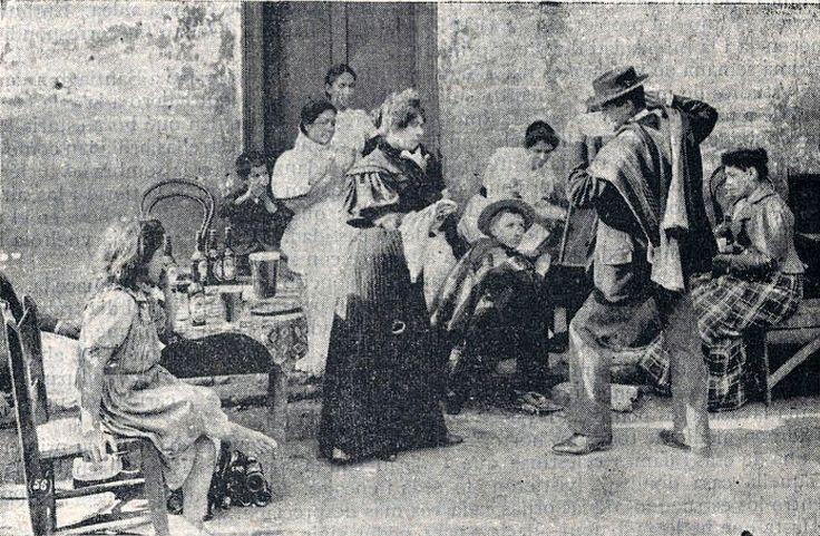 cueca chilena de 1900 presumo que es de Harry Olds | Flickr - Photo Sharing!