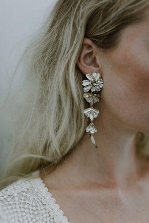 Elysee-Ohrring von a.b. Ellie   – Acessórios de noiva