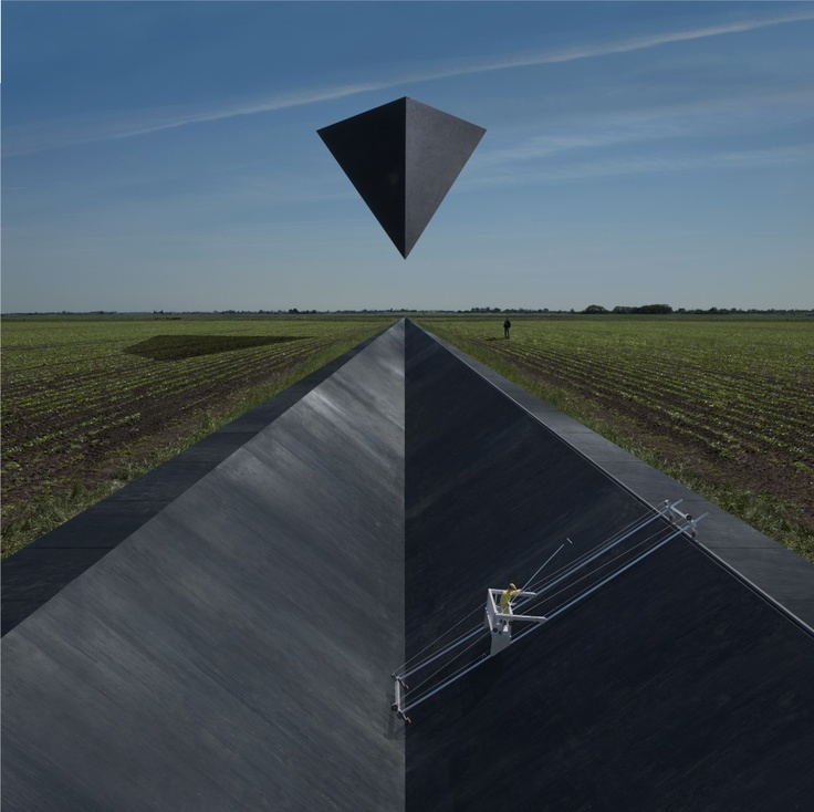 Belgian band Goose. Album cover for 'Synrise' by Storm Thorgerson