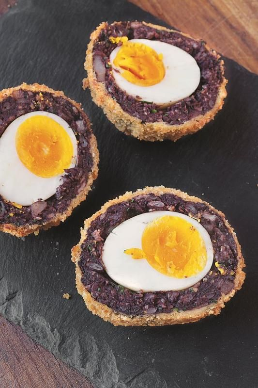 Black pudding Scotch eggs. Ultimate recipe and it's absolutely delicious