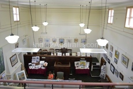 Kilmore, A place to visit - Inside the Court House , Kilmore