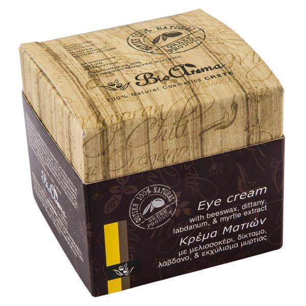 Oční krém proti vráskám s olivovým olejem a myrtou